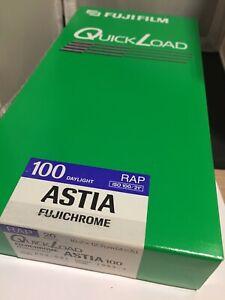 FUJIfilm Sealed Box  Quickload - Astia Expired   1999