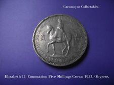 Elizabeth II Coronación cinco chelines Crown 1953.AH9095.