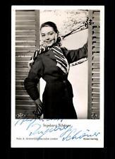 Ingeborg Schöner RÜDEL Autogrammkarte Original Signiert # BC 50568
