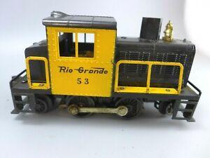 Lionel #53 Rio Grande 2-4-2 Snowplow Engine