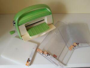 Cricut Cuttlebug Die Cutting Machine with Extended Cutting Plates