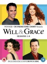 Will and Grace Season 1 2 3 4 5 6 7 8 Series One to Eight & Region 2 DVD Box Set