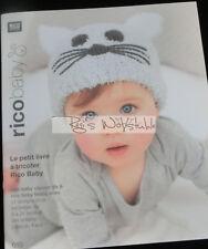 Rico: tricoter pour le bébé-Le petit livre à tricoter pour les bébés #100010