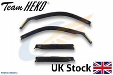 NISSAN SUNNY N13 4-doors 1986-1990 4-pc wind deflectors HEKO Tinted
