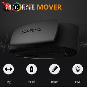 NEW MHR10 ANT + Bluetooth Heart Rate Sensor for Garmin/Bryton/iGPSPORT/Suunto