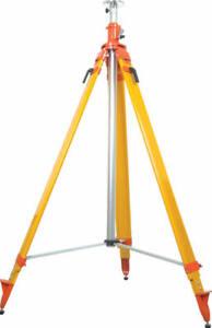 Seco Heavy-Duty Extra-Tall Elevator Laser Tripod 12ft., Trimble, Leica, Topcon
