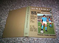 ALMANACCO ILLUSTRATO DEL CALCIO 1976 PANINI EDICOLA NO RIZZOLI-ALBUM CALCIATORI