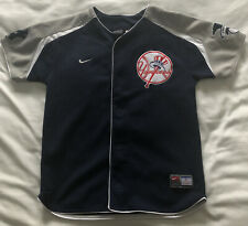 Official Merchandise - New York Yankees Shirt/Jersey - Damon 18 - Size Boys S