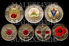 🇨🇦CANADA 2004 2008 2010 2015 2018 2019 2020 COLOURED COIN SET UNCIRCULATED <br/> REMEMBERANCE DAY - PLEASE SEE THE ITEM DESCRIPTION