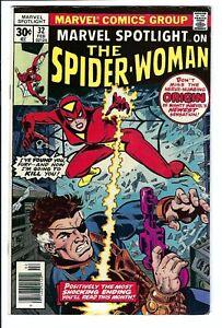 Marvel Spotlight #32 VF+ Marvel Bronze Age Key 1st Spider-Woman Partial Origin