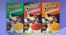 One of Each Cheetos Mac 'n Cheese Bold Cheesy, Flamin' Hot, and Cheesy Jalapeno
