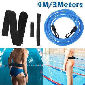 3m Schwimmgurte Pool Schwimmtraining Trainingsgurt Schwimmgurt Bungee Gürtel DE