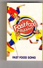 (GU562) Fast Food Rockers, Fast Food Song - 2003 Cassette Tape