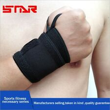 Power Weight Lifting Wrist Wraps Long Gym Training Bandages Fitness Straps Prote