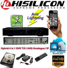 DVR 8 Channel DVR CCTV 1080 HD 4 in 1 recorder Hybrid TVI IP AHD Analogue 1TB HD