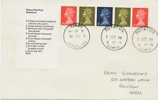 GB 1969 Stamps for Cooks se-tenant-strip from se-tenant pane FDC ROYSTON /HERTS.