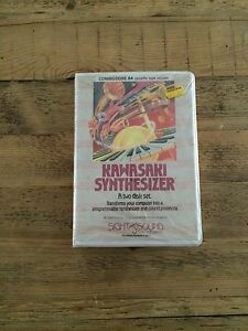 Kawasaki Synthesizer for Commodore 64 (Cassette tape version)-Unopened CIB/OVP