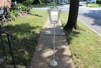 Vintage Victorian Style Garden Lamp Post Candle Holder Flower Stand Tall Metal