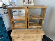 Bespoke Rustic Chunky Bedside Tables