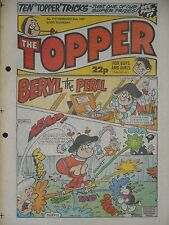 The Topper Comic 21st February 1987 (Issue 1777)