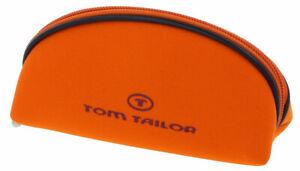 """Modernes Taschen-Etui mit Reißverschluss von """"TOM TAILOR"""" in mittel in Orange"""