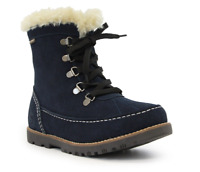 Lamo Suede Taylor Winter Boots, Block Heel, Pull-on, Various Colors & Sizes