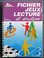 Fichier jeux de lecture et écriture, Les Francas 2002