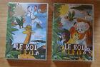 Lot de 2 DVD le Roi Léo, bon état, épisodes 5 à 10, n°14 et 15, 2 x 70 mn