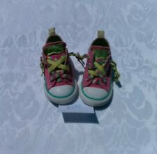 Converse All Star Toddler Baby Sneakers Low Top Pink Size 6m Pre-owned In EUC