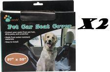 "BOGO Pet Trends Hammock Car Seat Cover 57"" x 53"" No More Hair/Dirt/Scratch/Water"