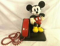 MICKEY MOUSE AT&T Phone Design Line Telephone WALT DISNEY