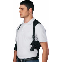 Tactical Shoulder Holster With Extra-Magazine Holder For Ruger American 9mm