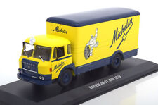 1 43 IXO Saviem JM 21/240 Michelin 1970 Yellow-blue