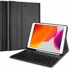 Magnetically Detachable Keyboard & Case for iPad 10.2Inch 2019/2020 (7th/8th Gen