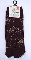足袋ソックス TABI SOCKS - Chaussettes japonaises - Hanabi 02 -  Pointure 35/38