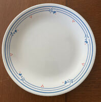 """Corelle Country Violets Red Blue Flowers Dinner Plate 10.5"""" Farmhouse Durable"""