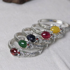 I05 Bangle To Open Sterling Silver 925 Frog Marcasite Colour to Choose
