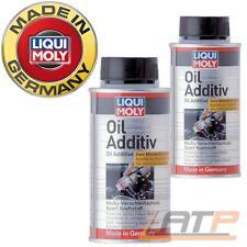 2x 125ml LIQUI MOLY OIL ADDITIV MoS2-VERSCHLEISS-SCHUTZ ÖL-ADDITIV