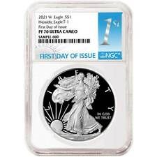 Presale - 2021-W Proof $1 American Silver Eagle NGC PF70UC FDI First Label
