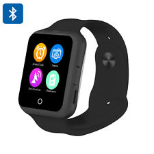 New D3 Smart Watch Phone Touchscreen GSM Heart Rate Monitor Pedometer Black
