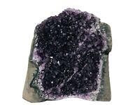 Amethyst Druse - Amethyst Stufe mit tief violetten Kristallen - Uruguay | 238 g