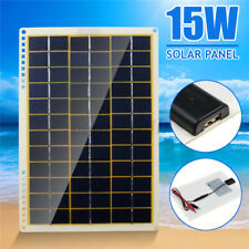 60W 18V Portable Solar Panel Solar Battery Charger for Camping Hiking