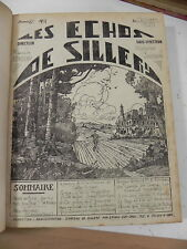RONDEAU, SAVIDAN & CULLEY LES ECHOS DE SILLERY d' octobre 1929 à dècembre 1933