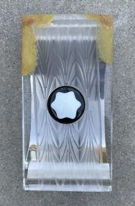 Montblanc Creation Lalique Limited Edition Desk Blotter