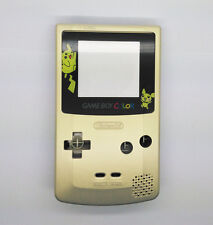 Gold color Full Housing Shell for Nintendo Game boy Color GBC OEM Repair - Gold