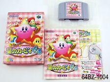 Complete Hoshi no Kirby 64 Nintendo 64 Japanese Import N64 Japan US Seller B