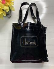 Harrods Knightsbridge PVC Tote Bag