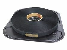 "Velcro 192834 25YD Black 1"" Hook Sew-On Tape Polyester 14 psi"