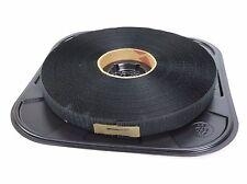 "Velcro 192834 25YD Black 1"" Hook Sew-On Tape Polyester 14 psi"