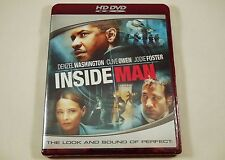 Inside Man HD DVD Denzel Washington, Clive Owen, Jodie Foster, Willem Dafoe